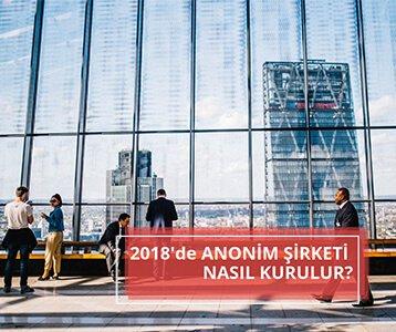 2018'de anonim şirketi nasıl kurulur
